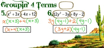 Factoring Lesson Plan