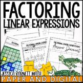 Factoring Linear Expressions Lesson Bundle
