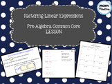 Factoring Linear Expressions