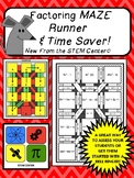 Factoring Maze Runner and Time Saver