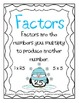 Factoring Numbers: Winter Themed