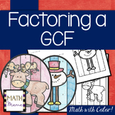 Factoring out a GCF - Math with Color!
