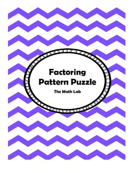Factoring Pattern Puzzle