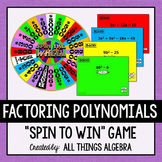 Factoring Polynomials Spin to Win Game
