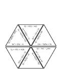 Factoring Polynomials Triangle Puzzle