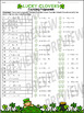 Factoring Polynomials St. Patrick's Day Theme