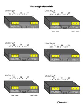 Factoring Quadratic Polynomials