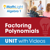 Factoring Polynomials | Algebra 1 Unit with Videos | Good