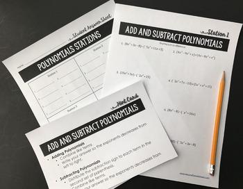 Factoring Polynomials Algebra Stations : Algebra Stations
