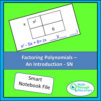 Algebra:  Factoring Polynomials - An Introduction
