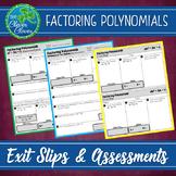 Factoring Polynomials Assessments