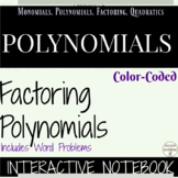Polynomials Notes Color Coded Interactive