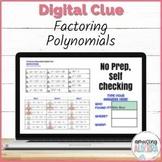 Factoring Polynomials DIGITAL Mystery Activity