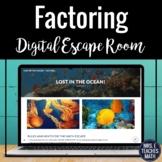 Factoring Polynomials Digital Escape Room Activity