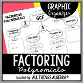 Factoring Polynomials Graphic Organizer
