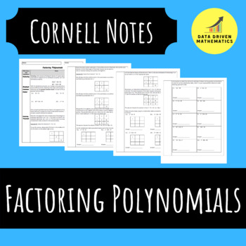 Factoring Polynomials (Greatest Common Factor and Factorin