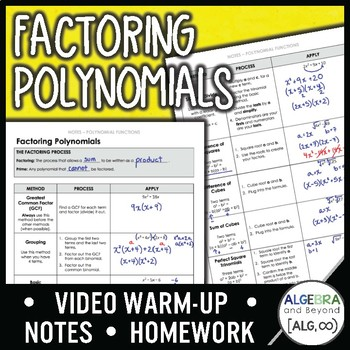 Factoring Polynomials Lesson
