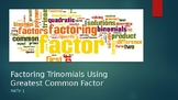 Factoring Polynomials PowerPoint
