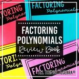 Factoring Polynomials Review Book