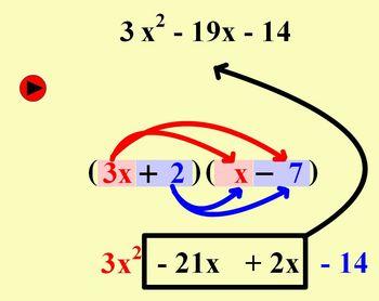 Factoring Polynomials (Trinomials) - Flash Presentation