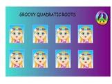 Factoring Quadratic Equations smartboard game