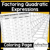 Factoring Quadratic Expressions Activity