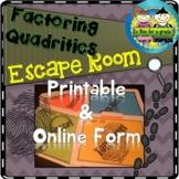 Factoring Quadratic Expressions Escape Room
