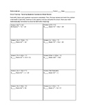 Factoring Quadratic Expressions Mixed Review Circuit Worksheet