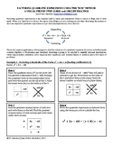 "Factoring Quadratic Expressions using the ""Box"" Method"
