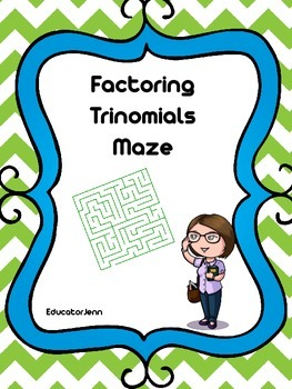 Factoring Quadratic Maze