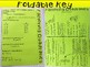 Factoring Quadratics Foldable, INB Activity, Practice, Exit