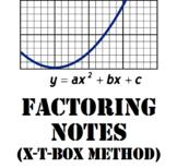 Factoring Quadratics Notes