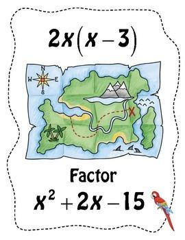 Factoring Quadratics Scavenger Hunt