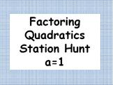 Factoring Quadratics Station Activity when a=1
