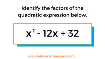 Factoring Quadratic Expressions Activity for Google Drive (with a = 1)