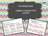 Factoring Review (Two Day)