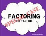 Factoring Special Case Quadratics