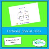 Algebra 1 - Factoring Special Cases