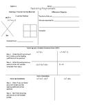 Factoring Techniques Note-sheet