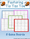 Factoring Tic Tac Toe