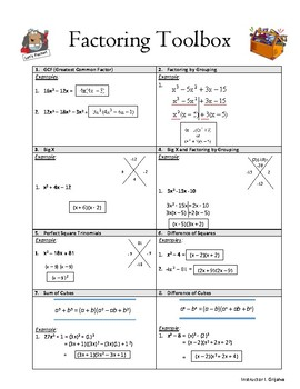 Factoring Toolbox
