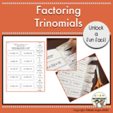 Factoring Trinomials, a=1, Algebra, Fun Fact