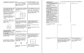 Factoring Trinomials Day 1 with Student Notes Page Fall 2015 (Editable)