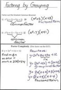 Quadratic Equations - Lesson 3 -  Factored Form