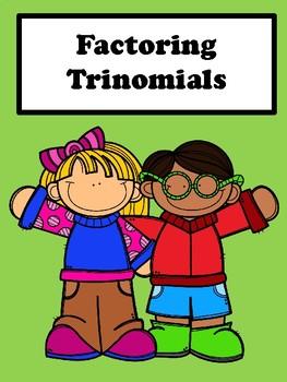 Factoring Trinomials No Prep Lesson