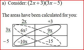 Factoring Trinomials Part 2 for Geometry Students Spring 2012 (Editable)