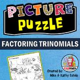 Factoring Trinomials Picture Puzzle