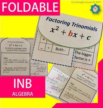 Factoring Trinomials / Quadratics