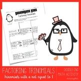 Factoring Trinomials Worksheet (Doodle-ing Math)