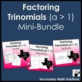 Factoring Trinomials (a > 1) Mini Bundle